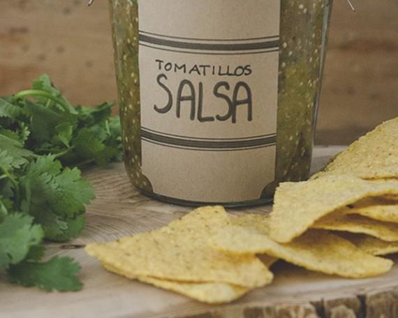 Salsa cuite aux tomatillos