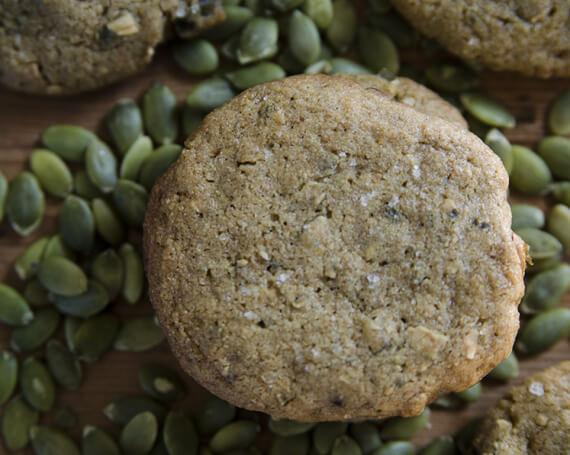 Biscuits au beurre de graines de citrouille