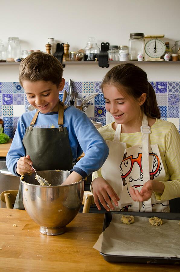 biscuits et les enfants